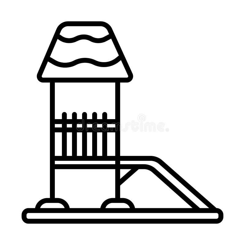 Glissez le vecteur d'icône illustration stock