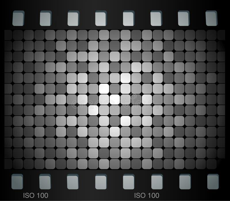 Glissière de mosaïque illustration de vecteur