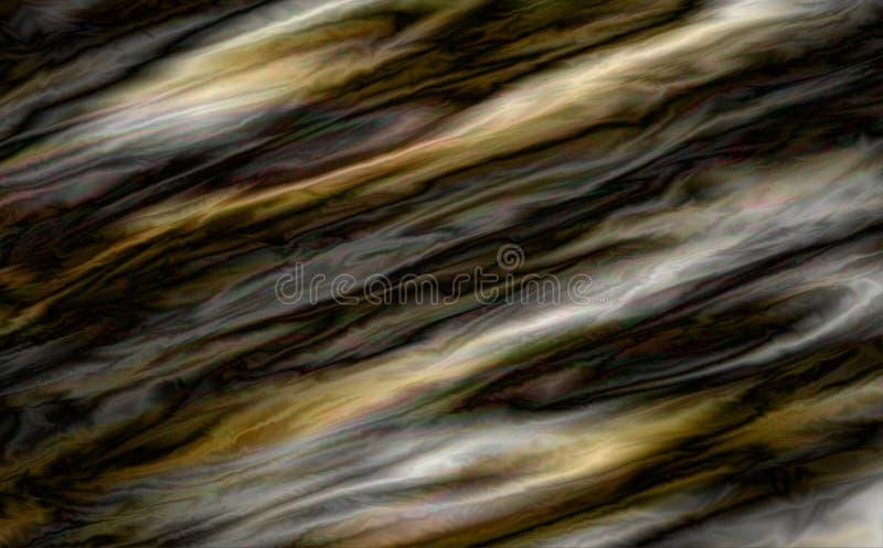 glitch abstraia o fundo Textura ou espaço de madeira ilustração stock
