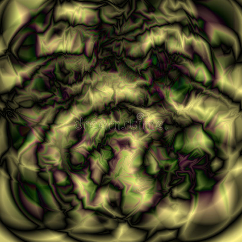 glitch abstraia o fundo Textura ou espaço estrangeiro ilustração royalty free
