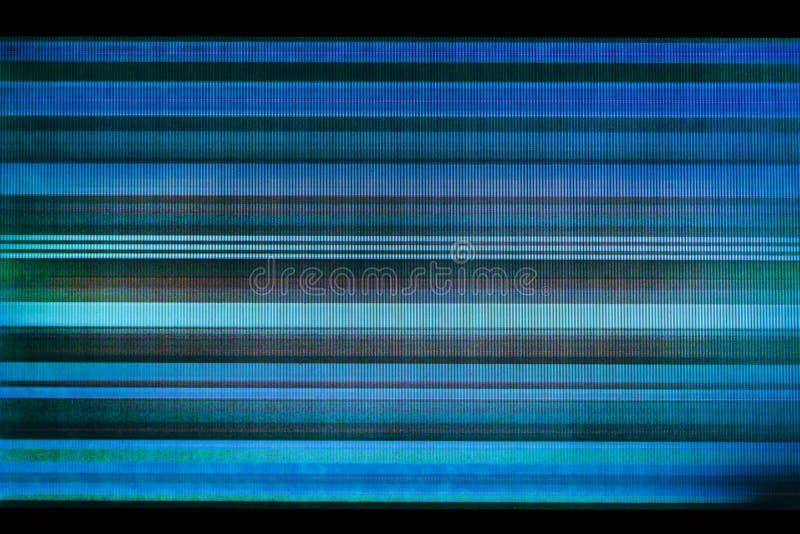 Glitch achtergrond van gebroken LCD vertoning royalty-vrije stock foto's