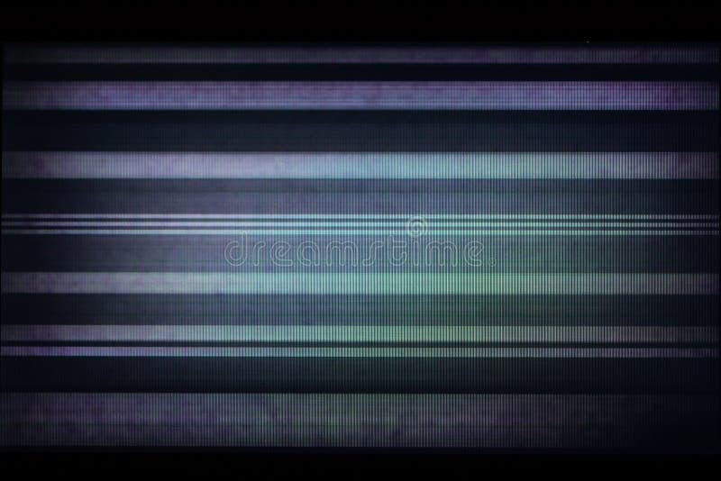 Glitch achtergrond van gebroken LCD vertoning stock fotografie