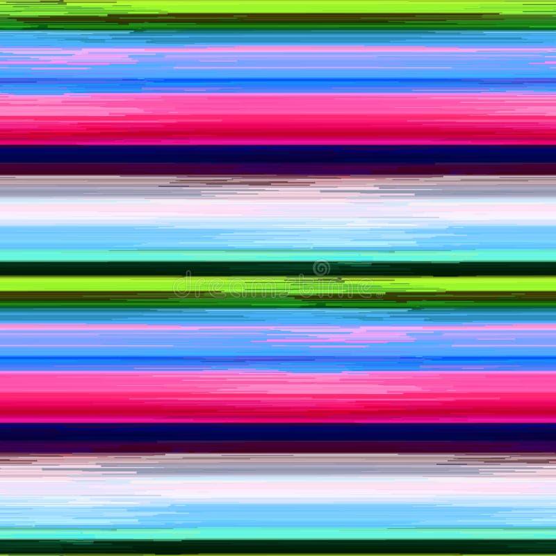 Glitch- art. stock illustratie