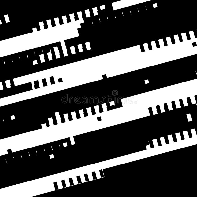 Diagonal Glitch Overlay stock vector  Illustration of grunge