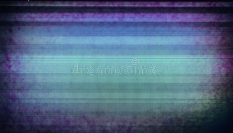 Glitch screen effect of broken LCD display. With copy-space stock images