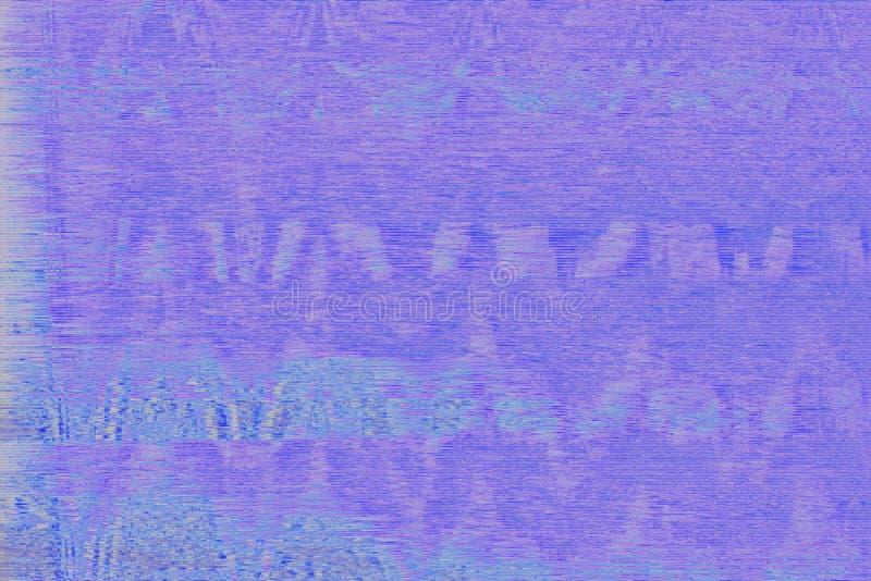 Glitch vhs blue noise abstract,  screen glitch. Glitch vhs blue noise abstract screen background,  screen glitch vector illustration