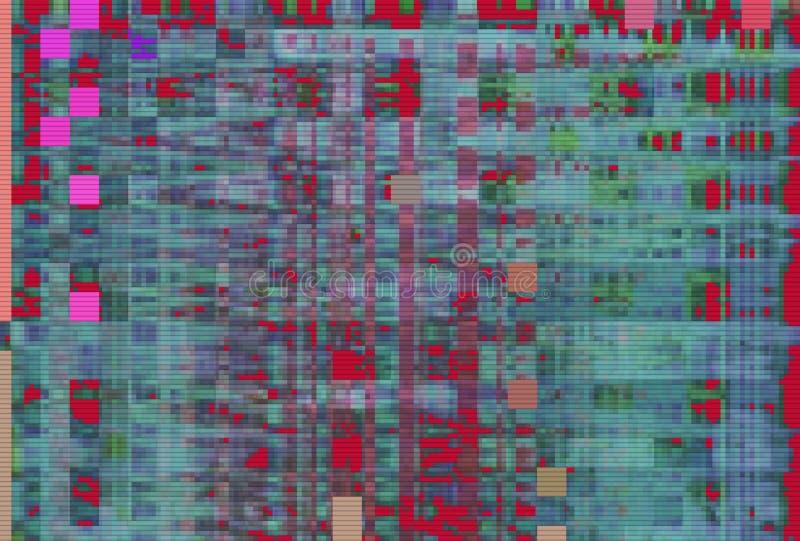 Glitch vhs noise background abstract,  digital. Glitch vhs noise background abstract screen texture,  digital stock illustration
