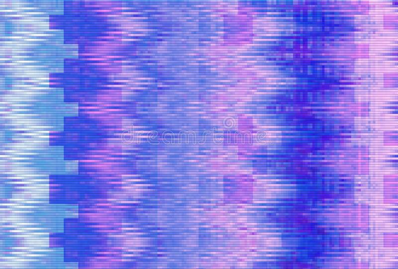 Glitch vhs noise background abstract,  technology screen glitch. Glitch vhs noise background abstract screen texture,  technology screen glitch vector illustration
