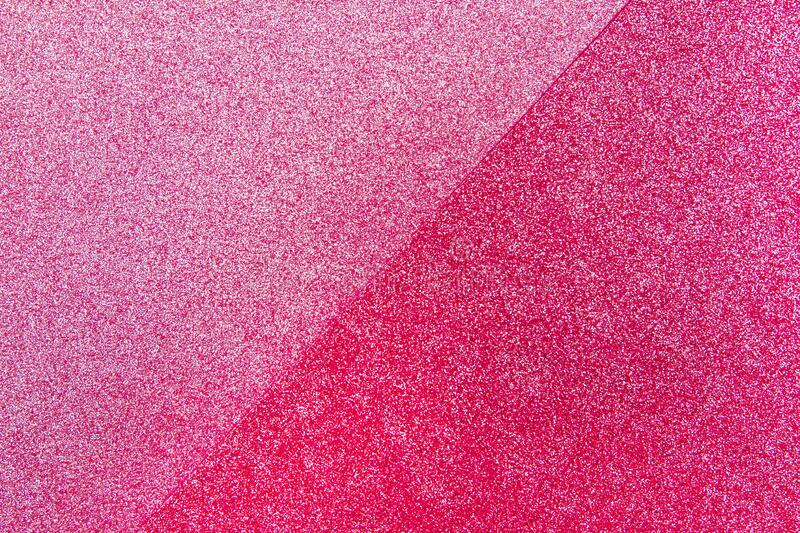 Glitter abstract background with shiny vibrant colors and shades. Of red and pink colors royalty free stock photos