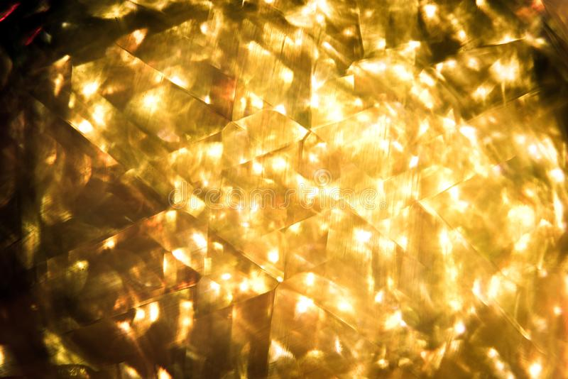glitter gold bokeh Colorfull Blurred abstract background for birthday, anniversary, wedding, new year eve or Christmas royalty free stock photo