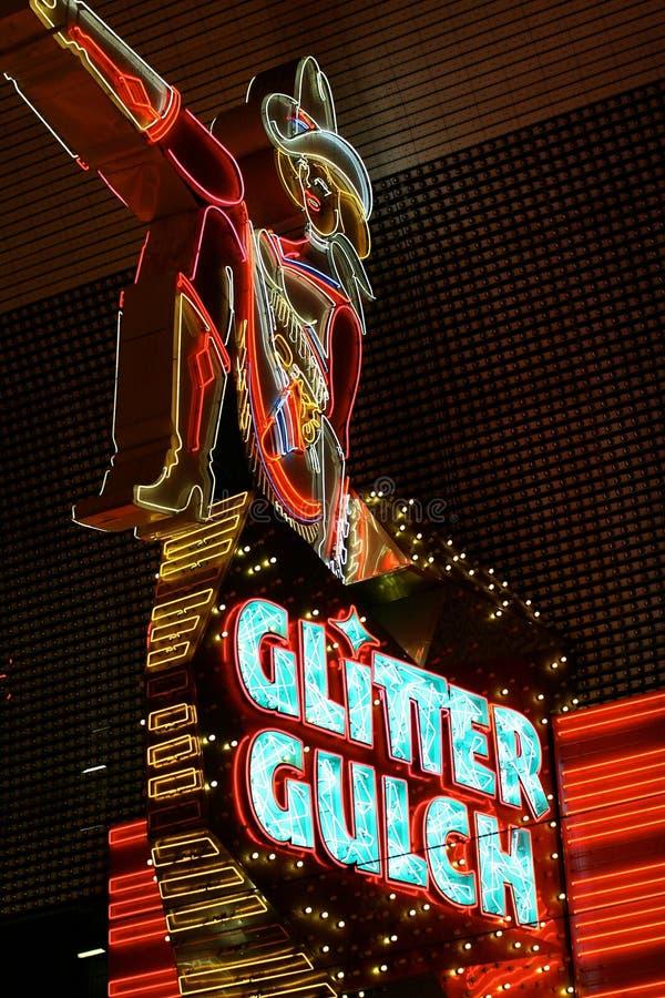 Glitter Gulch Editorial Photography