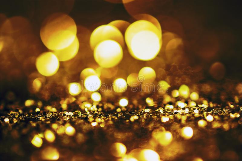 glitter lights grunge background, glitter defocused abstract Twinkly Lights and Stars Christmas Background.. royalty free stock photo