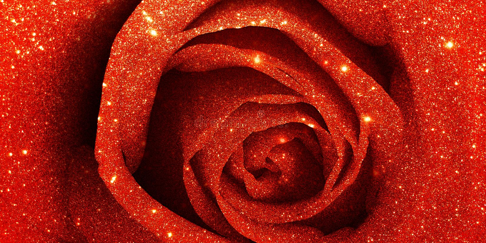 Glitter rose textured background stock images