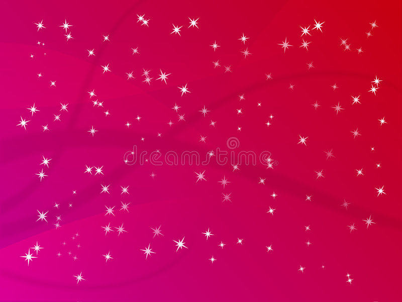 Glitter Star Background royalty free illustration