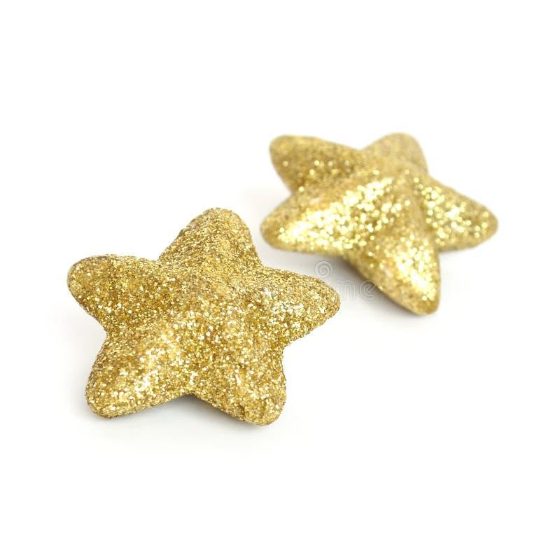 Glitter Stars Royalty Free Stock Photo