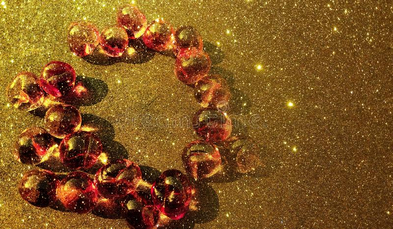 Glitter textured abstract background template, graphics template design. stock illustration