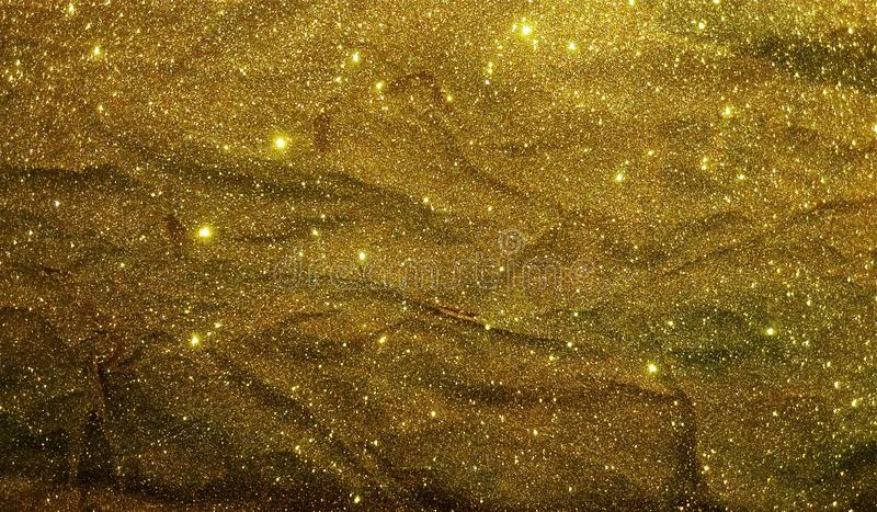 Glitter textured background template, graphics template design. royalty free stock images