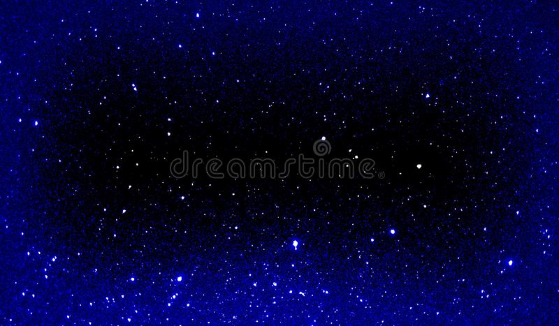 Glitter textured blue and black shaded background wallpaper. royalty free stock photography