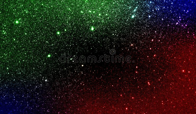 Glitter textured colorful shaded background wallpaper. stock photo