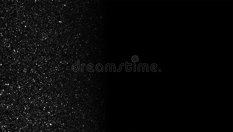 Glitter textured grey and black shaded background wallpaper. stock image