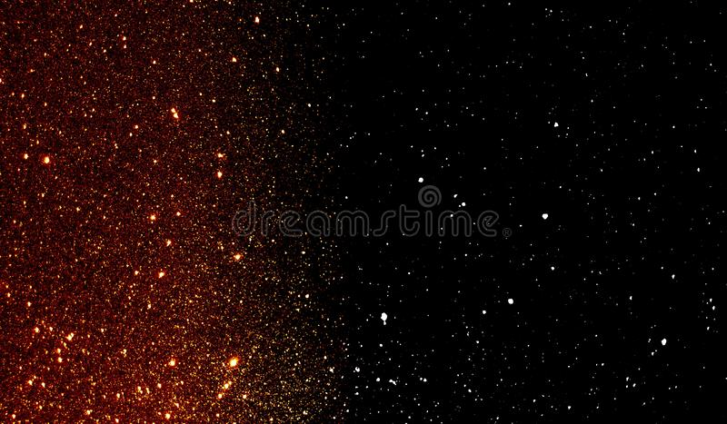 Glitter textured red and black shaded background wallpaper. royalty free stock photography