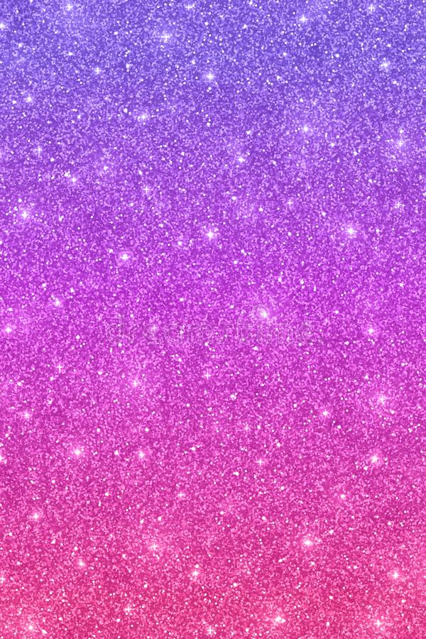 Glitter vertical texture with purple pink color effect stock illustration