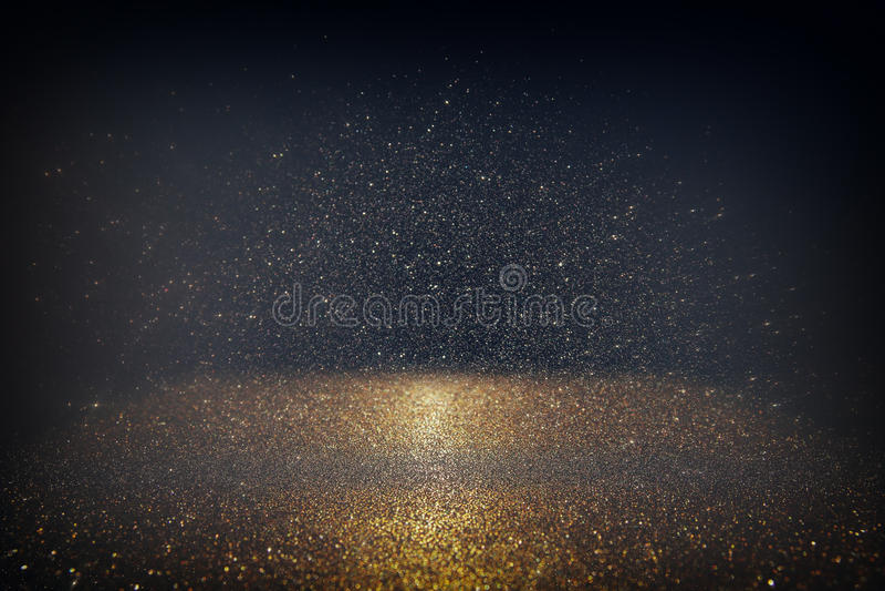 Glitter vintage lights background. light silver, gold, black. defocused. Glitter vintage lights background. light silver, gold, black. defocused royalty free stock photos