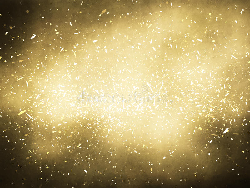 Download Gold background stock illustration. Image of merry, glittering - 17415338