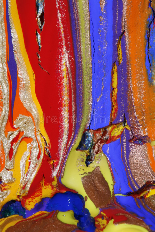 Free Glittering And Cracked Paint Stock Photo - 3822980
