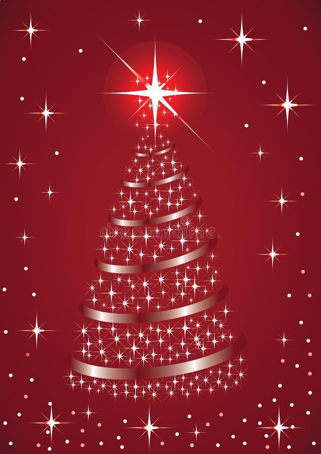 Download The Glittering Christmas Tree Stock Illustration - Illustration of glitter, beauty: 12002259