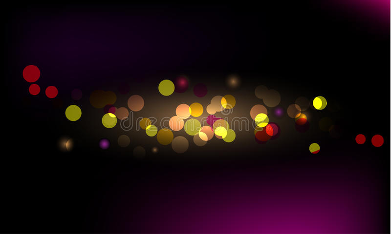 Glittering light background