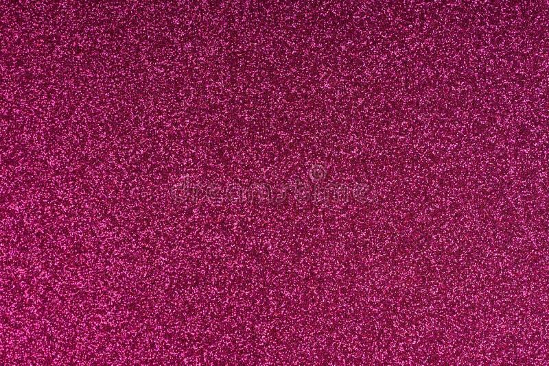 Glittering Magenta Paper Sheet Texture Background
