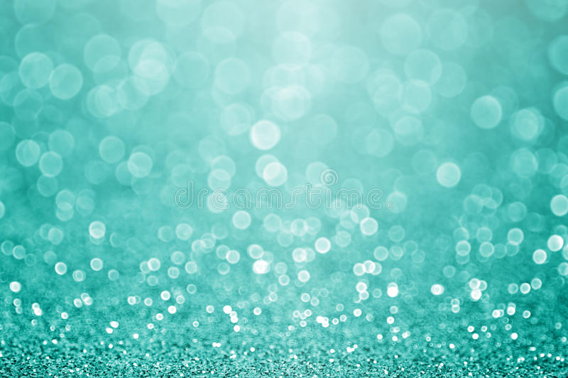 Teal Turquoise Aqua Glitter Background royalty free stock image
