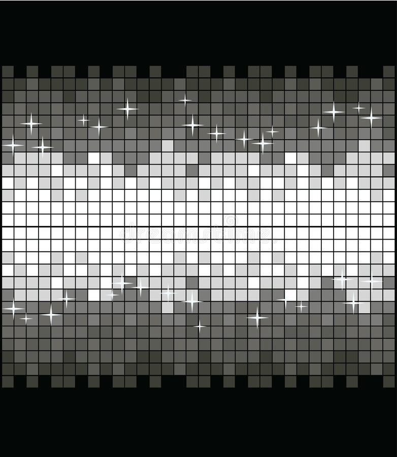 Download Glittering Silver Background Stock Vector - Image: 7724280