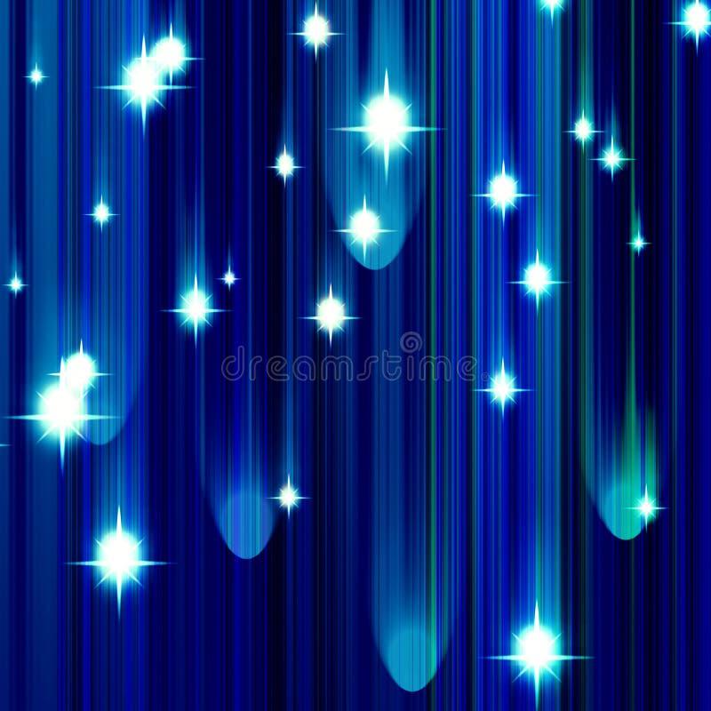 Download Glittering stars stock illustration. Illustration of backdrop - 13458790