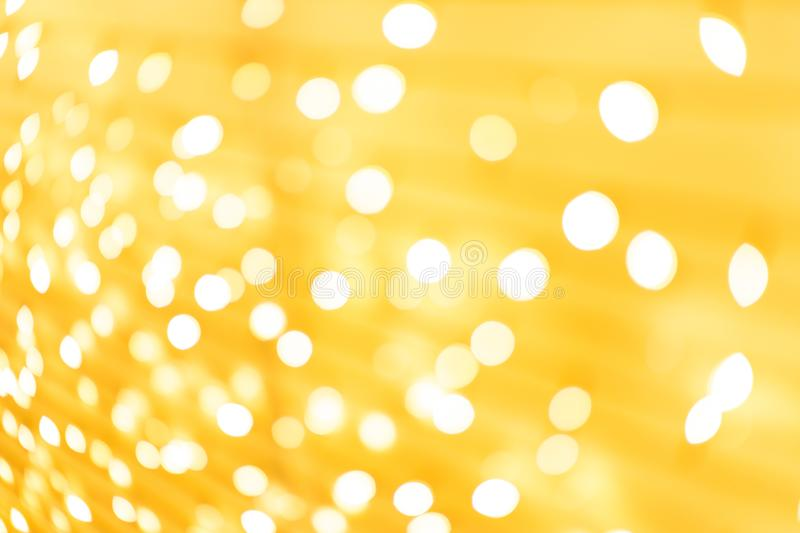 Glittering stars on bokeh. Christmas background. Abstract black bling blurred blurry bright cosmic dark design diamond disco dust effect exciting filter galaxy stock image