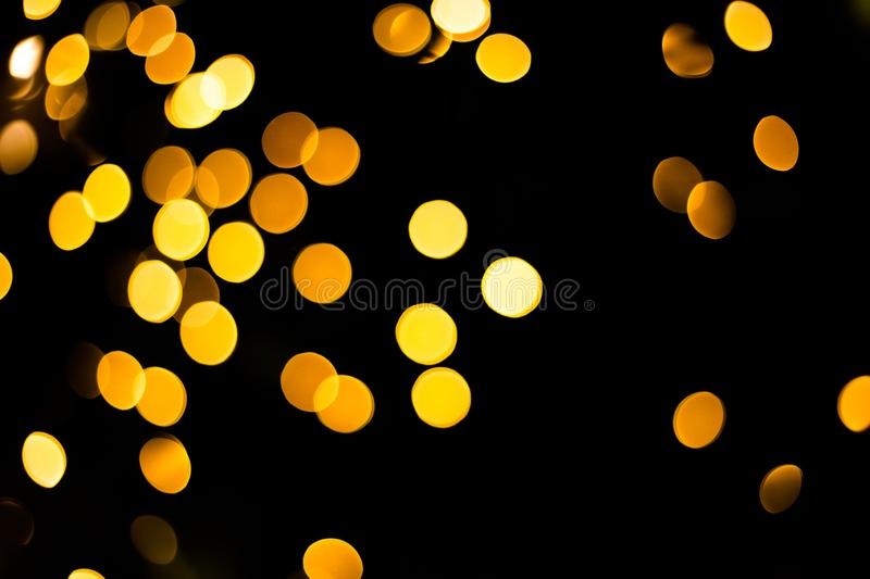 Glittering stars on bokeh. Christmas background. Abstract backdrop beautiful beauty blurred blurry blurs bow bright card decoration design fire focus gold stock photos
