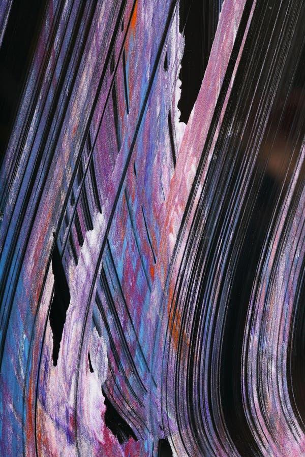 glittery краски стоковое изображение rf