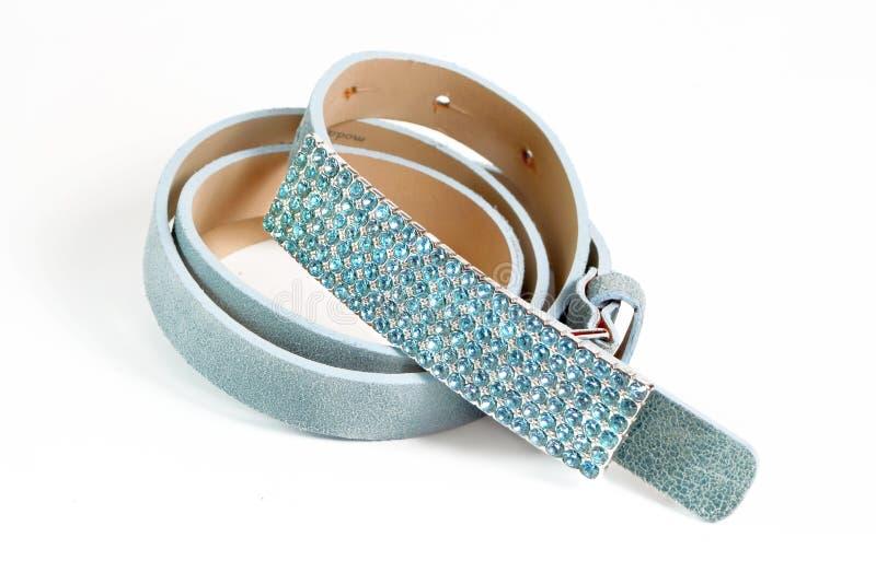 glittery bälte royaltyfri bild