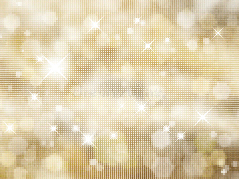 Glittery Goldhintergrund vektor abbildung