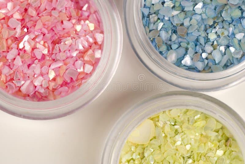 glittery stenar fotografering för bildbyråer