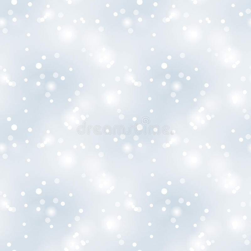 Glittery vintage silver seamless pattern. Christmas background vector illustration