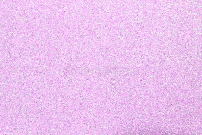Glitteryachtergrond in ROZE kleur stock foto's