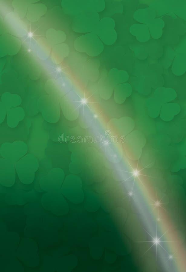 glittra regnbåge royaltyfri illustrationer