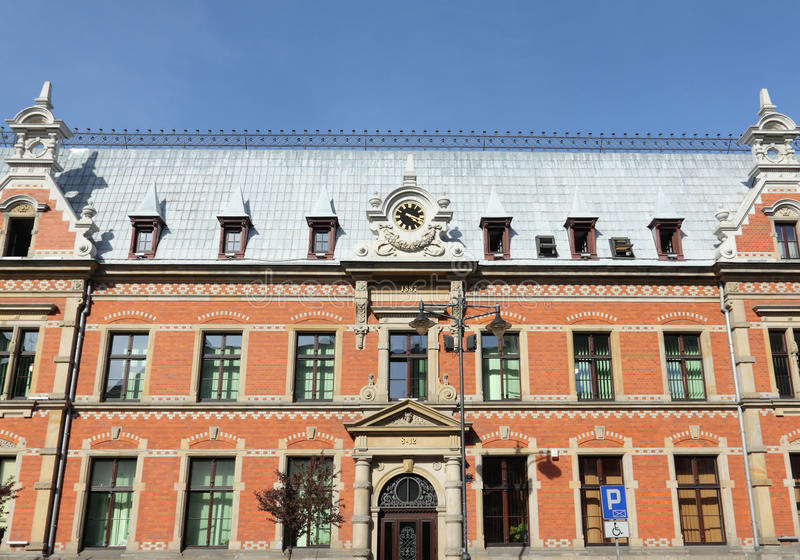 Gliwice, Poland. Historic building in Gliwice, Poland royalty free stock image
