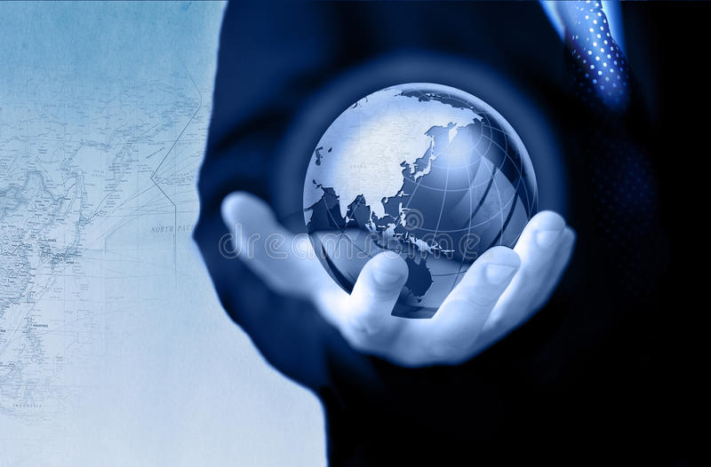 Globaal bedrijfsconcept stock foto's