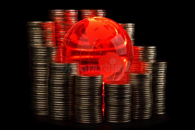 Globaal bedrijfsconcept stock afbeelding