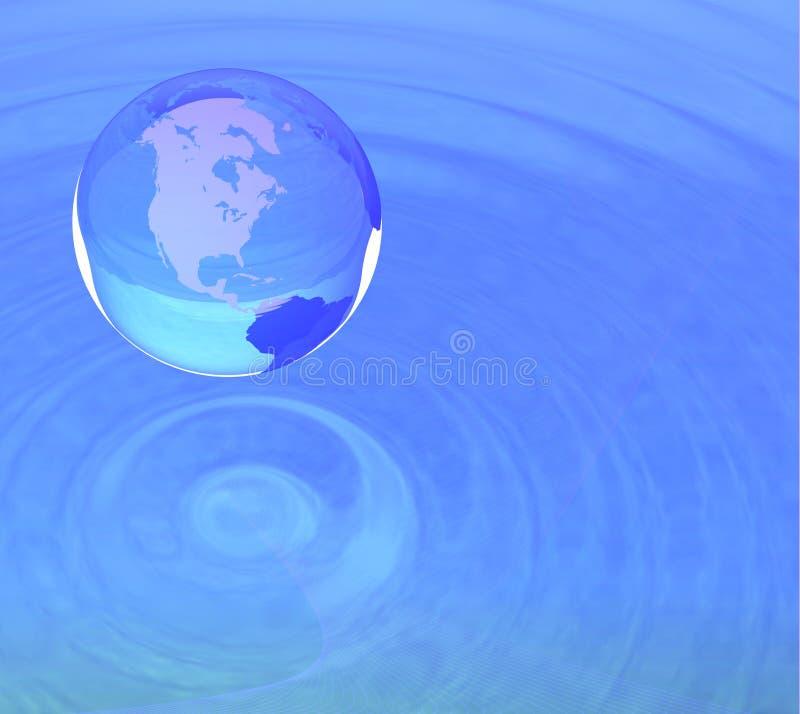 Globaal concept stock illustratie