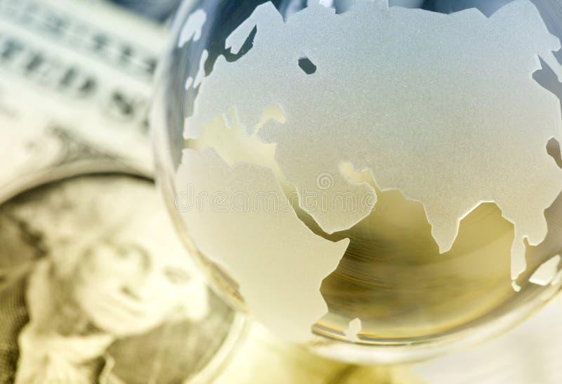 Globaal financiënconcept royalty-vrije stock foto's