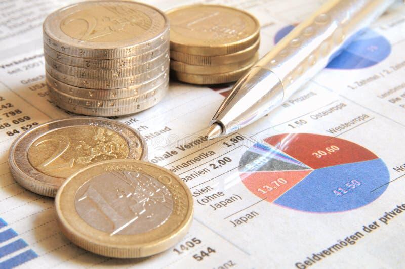 Globaal Inkomen royalty-vrije stock foto